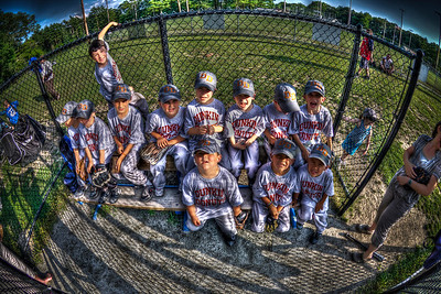 T-Ball Team for Dunkin' Donuts in Acushnet, MA June 2010