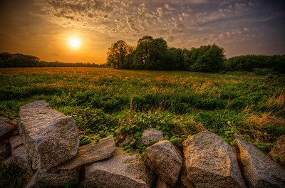 """A Sunset Close to Home"" May 26th, 2012 Acushnet, MA"