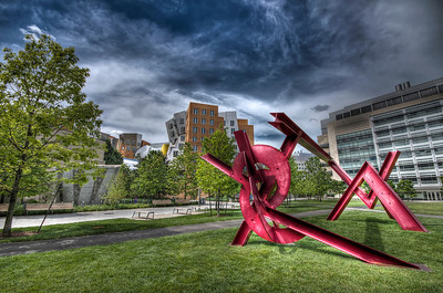 """Mark di Suvero's Aesop's Fables, II (2005)"" - SECOND Cambridge, MA August 13th, 2011"