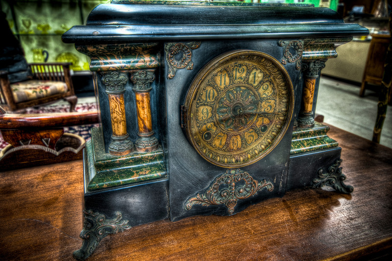 Clock<br /> New Bedford Antiques Center & Museum<br /> May 8th, 2010