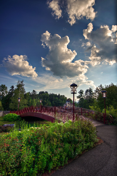 """Bridge to Storyland's Bamboo Chutes""<br /> August 20th, 2011<br /> Glen, NH"