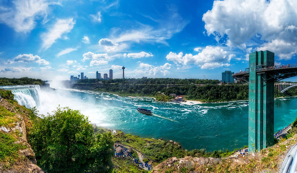 The Beautiful Niagara Falls State Park