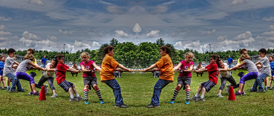 """The Tug of War"" June 7th, 2012 'Field Day' at the Acushnet Elementary School Acushnet, MA"