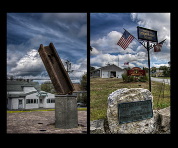 """Acushnet's Fire & Rescue's 9/11 Memorial...in the making"" September 5th, 2011"
