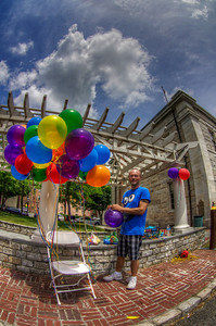 """""""No such thing as too much color at the Pride Festival"""" June 23rd, 2012 New Bedford, MA"""