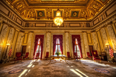 """The Golden State Room"" January 30th, 2012 Rhode Island State House"