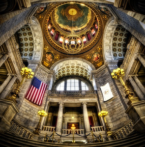 """Vertorama of RI State House"" January 30th, 2012"