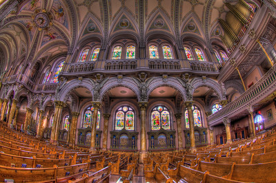 The stations are said to be the largest interior stations of any Church in the United States.