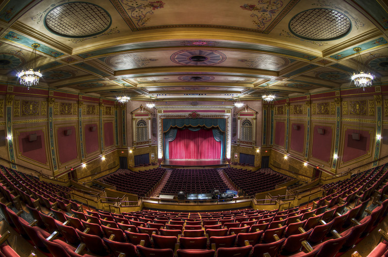 """""""The Grand View (Curtain Lowered) Fisheye""""<br /> March 2nd, 2011"""