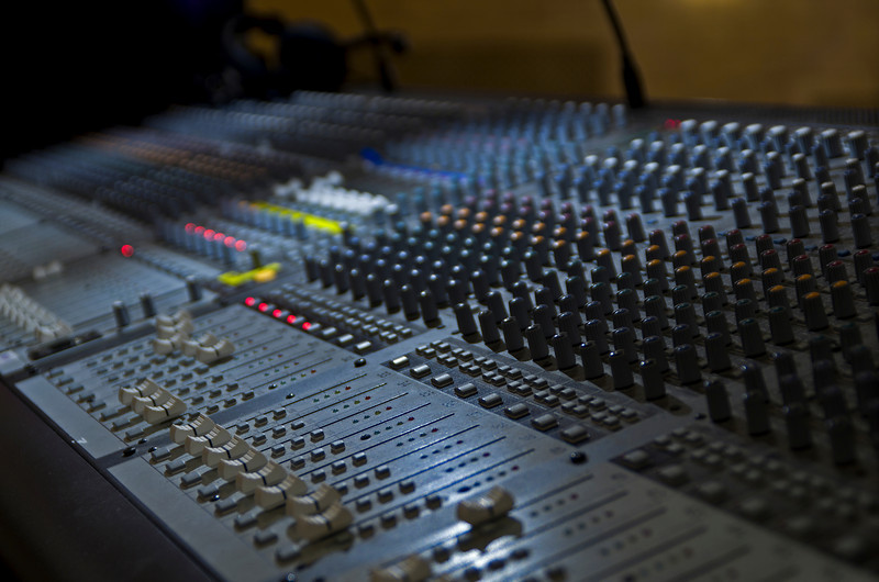 """The Mixing Board"""