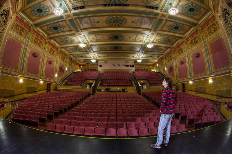 """Standing in the Proscenium""<br /> <br /> The Stadium Theatre<br /> March 2nd, 2011"