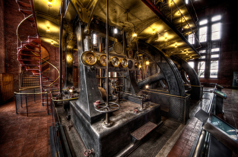 """""""The Behemoth Allis Engine""""<br /> March 9th, 2012"""