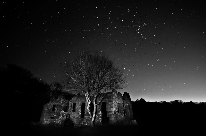 """White's Factory Under December Stars""<br /> December 28th, 2011"
