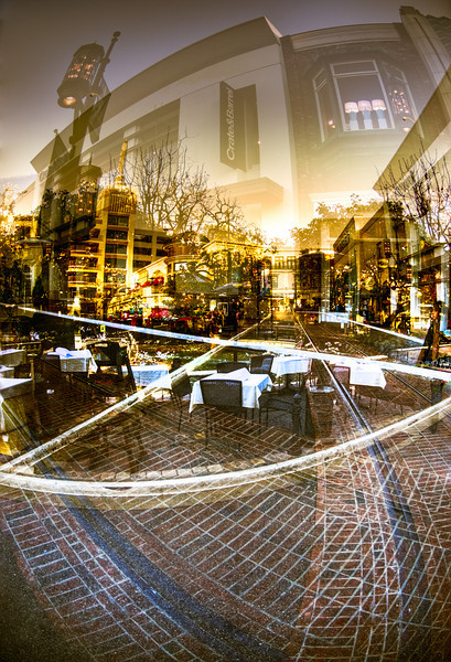 The Grove, Los Angeles, Multi-exposure HDR scene<br /> © Harvey Cooper 2009