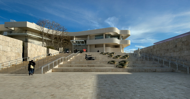 Getty Museum, Los Angeles, HDR<br /> © Harvey Cooper 2009
