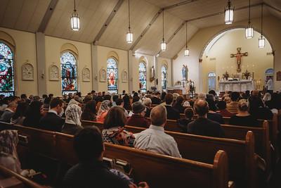 5541 St  Patricks Latin Mass social