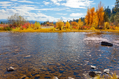 Clearwater River @Hapers Lake, MT
