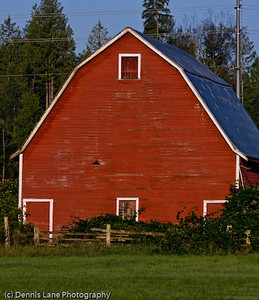 Red Barn - Western Washington -  file name for ordering listed below