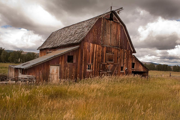 Barn Near Phillipsburg, MT -Please note file name for ordering