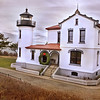 Light House - on Whidby Island, WA North Cascade from near Everett, WA - Note File Name below for ordering
