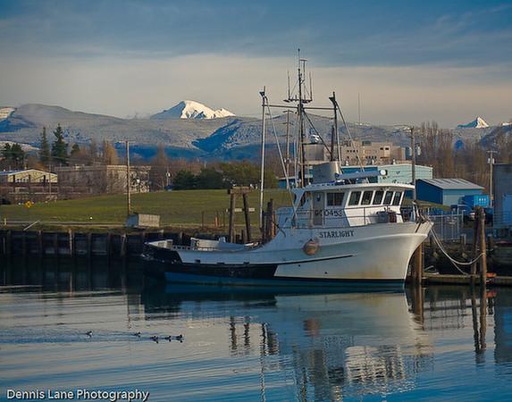 Star Light Fishing Boat - Mt Baker in Back Ground - Bellingham, WA