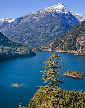 Diablo Lake - Western, WA -  file name for ordering listed below
