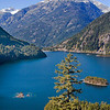 Diablo Lake - Western, WA -  file name for ordering listed below