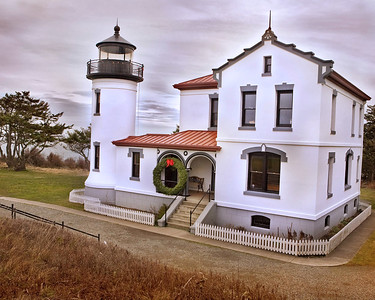 Light House - on Whidby Island, WANorth Cascade from near Everett, WA - Note File Name below for ordering