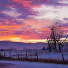Sunrise in Stevensville, MT -  file name for ordering listed below