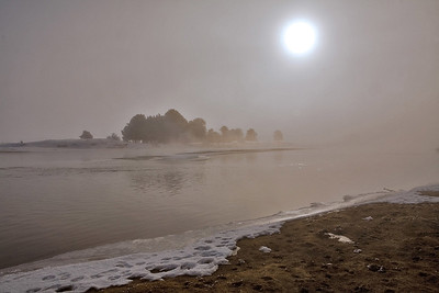 Foggy Payette River - Cascade, ID -Note File name for ordering