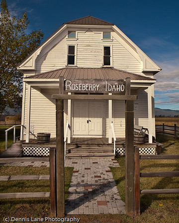 Historic Building - Roseberry, Idaho -Note File Name below for ordering