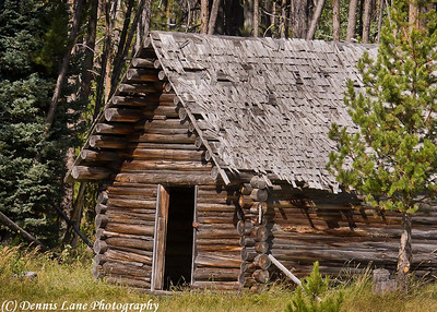 Homestead Cabin, Cascade Idaho -Note File Name below for ordering