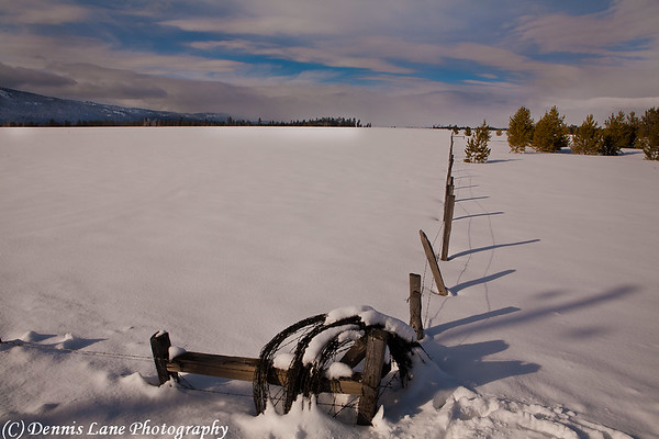 Snowy Pasture - Donnelly, ID - Note file name for ordering.