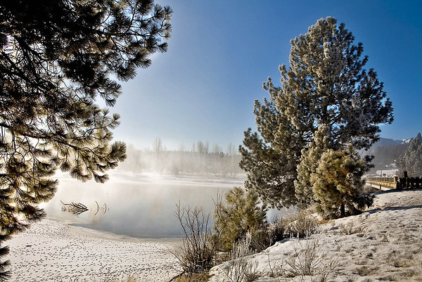 Snowy Payette River, Cascade, ID -Note File name for ordering