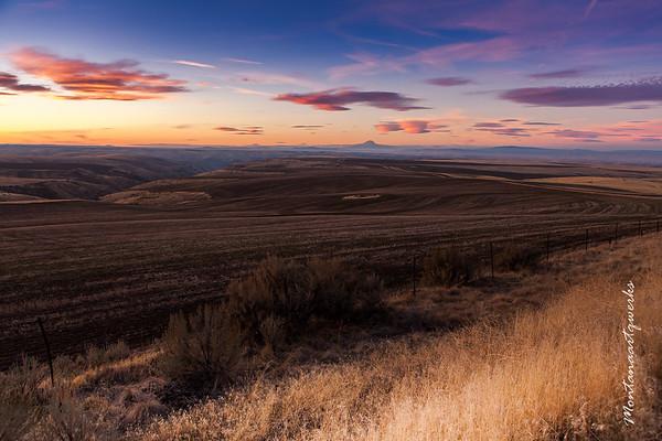 Sunset Near Condon