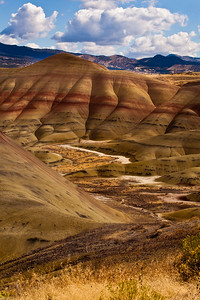 Painted Hills, Eastern Oregon - Note File Name Below for ordering