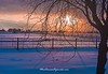 Snowy Sun Rise - Stevensville, MT