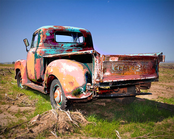 Psyco Chevy Truck - Eastern Oregon-Please note file name for ordering
