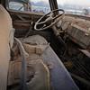 Desolate truck cab