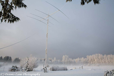 Winter Ham Radio Antenna - Marysville, WA -Note File Name below for ordering