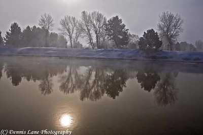 Reflections on the Payette River - Cascade, ID -Note File Name below for ordering