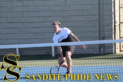 3/2/17 Sand Springs Tennis vs Claremore