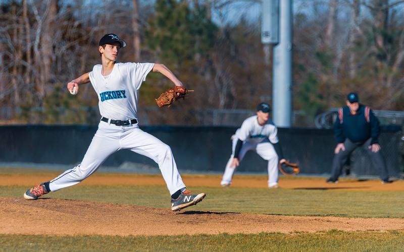 2018-03-16 Kings Fork vs Hickory Junior Varsity Baseball