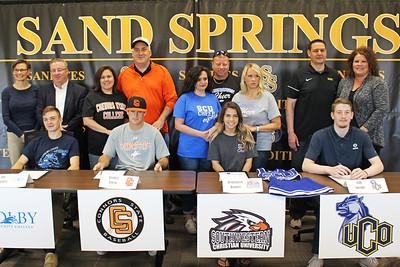 Sandite Athletic Signings