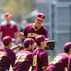 5/22/181:46:49 PM --- San Luis Obispo High School Baseball lost to Arlington in the CIF Playoffs at Taylor Field in San Luis Obispo, CA on May 21, 2018. <br /> <br /> Photo by Owen Main