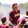 5/22/181:47:31 PM --- San Luis Obispo High School Baseball lost to Arlington in the CIF Playoffs at Taylor Field in San Luis Obispo, CA on May 21, 2018. <br /> <br /> Photo by Owen Main