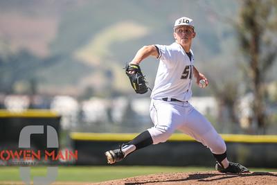 5/18/182:20:12 PM --- San Luis Obispo High School baseball beat Oxnard High School 6-0 in the CIF playoffs at San Luis Obispo High School in San Luis Obispo, CA on May 18, 2018.   Photo by Owen Main