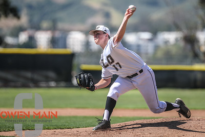 5/18/182:19:35 PM --- San Luis Obispo High School baseball beat Oxnard High School 6-0 in the CIF playoffs at San Luis Obispo High School in San Luis Obispo, CA on May 18, 2018.   Photo by Owen Main
