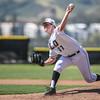 5/18/182:19:35 PM --- San Luis Obispo High School baseball beat Oxnard High School 6-0 in the CIF playoffs at San Luis Obispo High School in San Luis Obispo, CA on May 18, 2018. <br /> <br /> Photo by Owen Main
