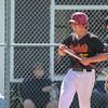 5/18/182:20:54 PM --- San Luis Obispo High School baseball beat Oxnard High School 6-0 in the CIF playoffs at San Luis Obispo High School in San Luis Obispo, CA on May 18, 2018. <br /> <br /> Photo by Owen Main